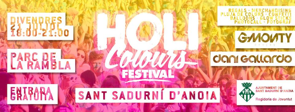 Holi Colours Sant Sadurni