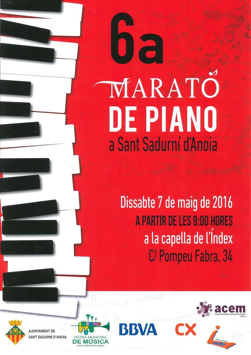 6ª Marató de Piano