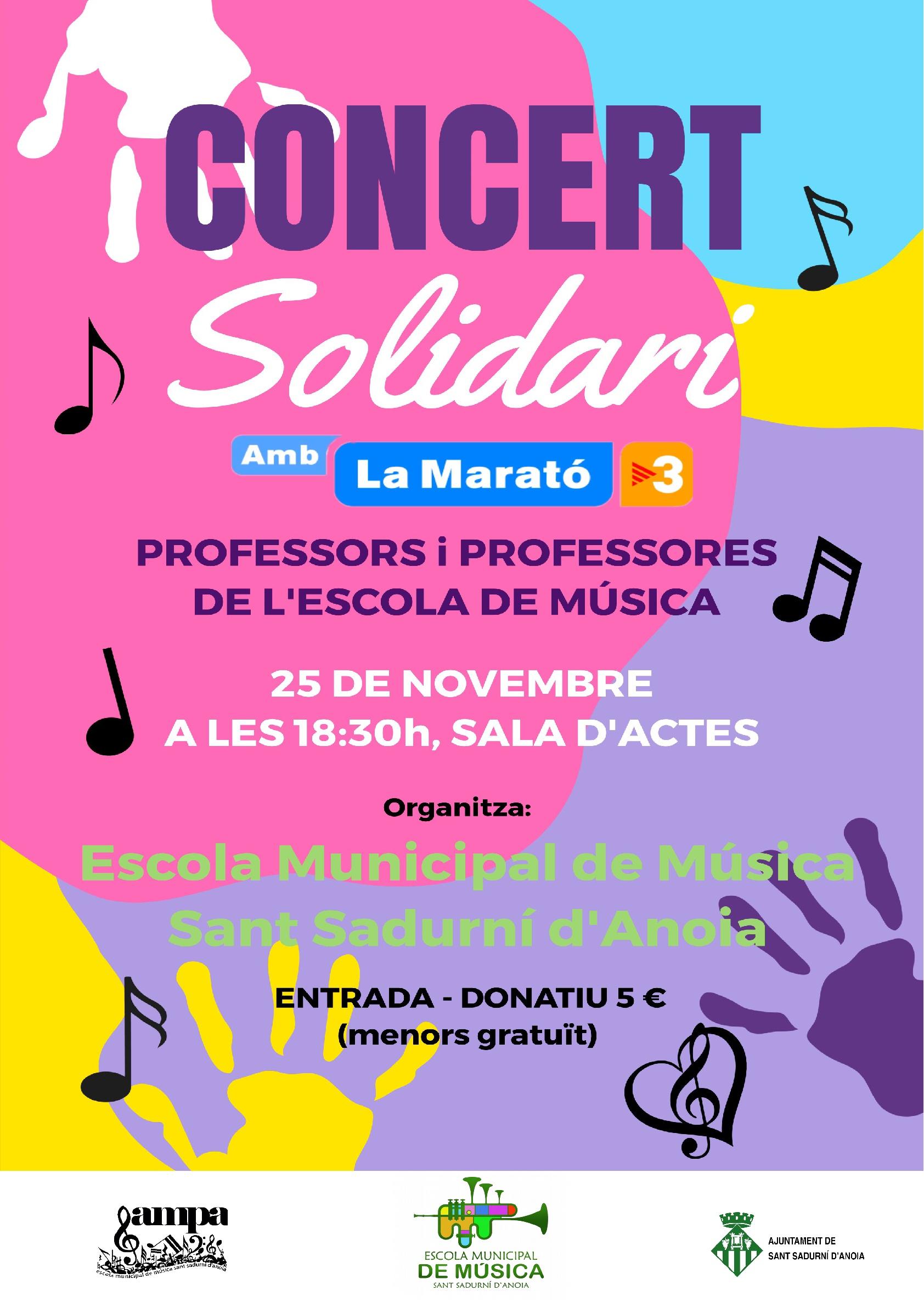 Concert Solidari 2018