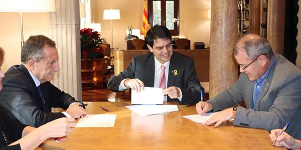 JM Ribas a la Diputació de Barcelona