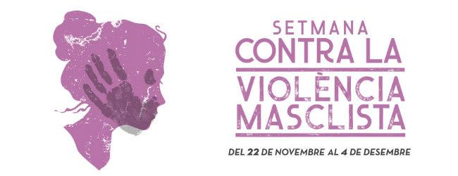 Setmana contra la violència de gènere 2019